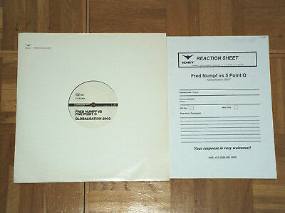 """12"""" Vinyl Fred Numpf vs Five Point O - Globalisation 2003 (Promo) (ID&T)"""