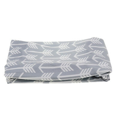 Baby Changing Table Pad Cover Contoured Diaper Change Nappy Changing Arrow