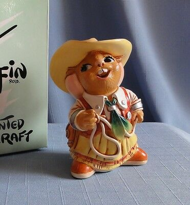 BONNIE The Cowgirl from Pendelfin