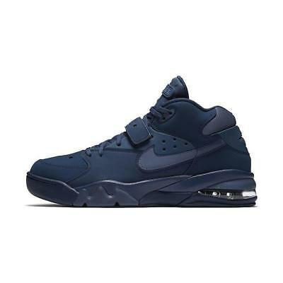 ... classic styles c436e 8f018 Nike Air Force Max Men s Basketball Shoes  Navy AH5534 400 ... e82097647393