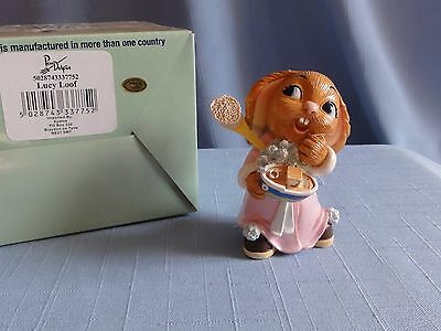 Pendelfin LUCY LOOF Toddler Trouble piece Getting ready for bath time