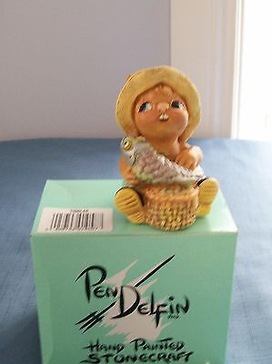 TIDDLER from Pendelfin Made in England The fisherman