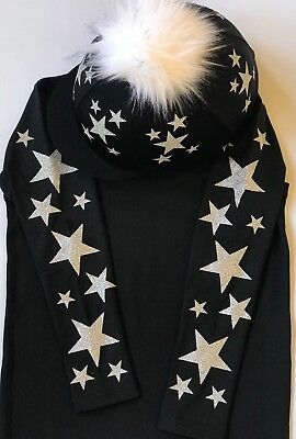 XC Cross Country Base Layer Top and Pompom Hat Silk