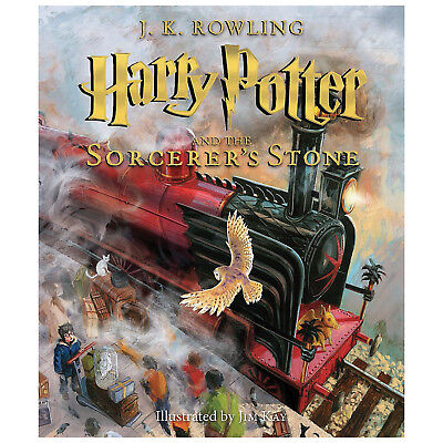 Harry Potter and the Sorcerer's Stone: Illustrated Edition - J.K. Rowling Book