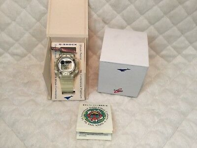 1998 Casio G-Shock DW8600K-7V Dolphin & Whale ICERC Watch *Clear* NEW WITH TAGS