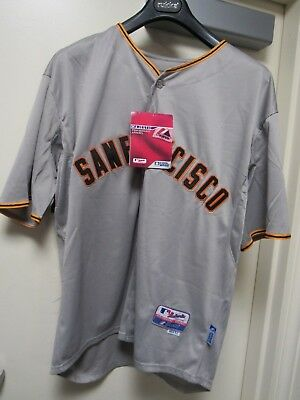 a429e879b65 NWT Buster Posey  28 San Francisco Giants Mens Jersey Gray (12206-B12-