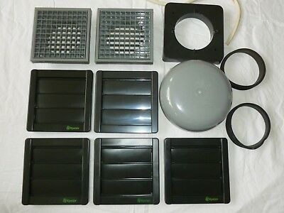 "New 4"" Extract Fan Grills Job Lot"