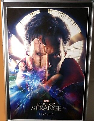Doctor Strange Benedict Cumberbatch Double Sided Marvel Original 27x40 Poster
