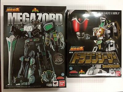 SOUL OF CHOGOKIN GX-78 Dragonzord + MEGAZORD POWER RANGERS MIGHTY MORPHIN MMPR