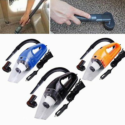 Portable 120W Handheld Car Vacuum Cleaner Wet&Dry Dual-use Super Suction W