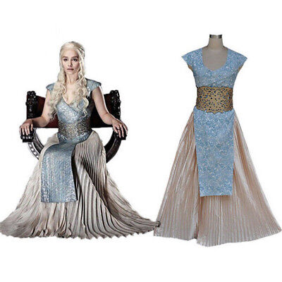 Robe Daenerys Mère Targaryen Of Longue Game Cosplay Des Thrones Dragons Costume kXPiZuO