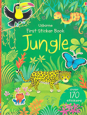 First Sticker Book Jungle by Alice Primmer BRAND NEW BOOK (Paperback, 2014)