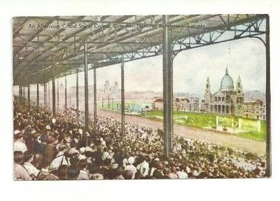 Grand Stand Crowd, Canadian National Exhibition Toronto, Canada Vintage Postcard