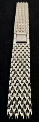 Citizen Stainless Steel Rice Grain Watch Strap New Old Stock