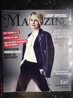 The Times Magazine New Lorraine Candy Cover Shop! High Street Special Elle Botox