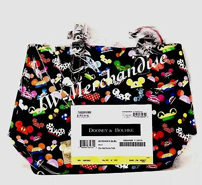 Disney Dooney & And Bourke I Am Ear Hat Emily Tote Bag Purse - NEW