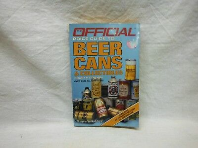 Official Price Guide To Beer Cans & Collectibles-1986