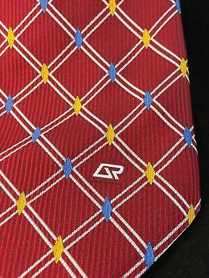 Qr Logo Emblem Qld Rail Train Crew Station Staff Railway Clip On Uniform Tie