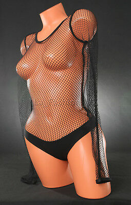 0eca3925cc Victoria s Secret VS Fishnet Bodysuit Teddy Lingerie Thong Sexy Black