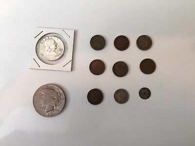 Mixed Lot Of Very Old And Rare Coins 🦅