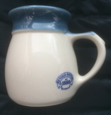 BENDIGO POTTERY AUSTRALIA HERITAGE COFFEE MUG Blue