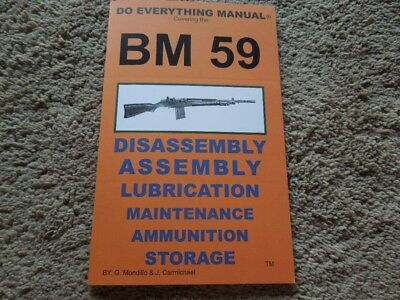Beretta BM 59 .308 or 7.62mm Nato Rifle Collector Book 31 Pages