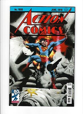 Action Comics #1000b NM 9.4 (2018, DC) 1st Print! Steve Rude Variant! HOT!!!
