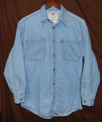 Levi's Jrs LARGE (16-18)Made In Indonesia 100% Cotton BF Red Tab LS Western Shrt