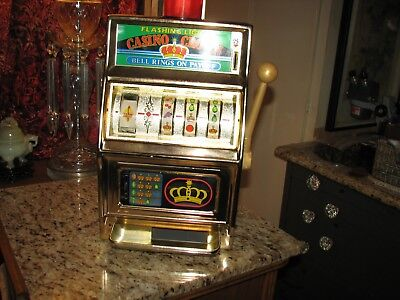 Waco Casino Crown slot machine with flashing light and bell