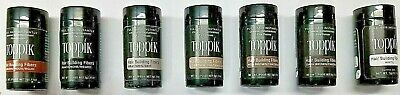 Toppik Hair Building Thickening Fiber Loss Treatment 3grms TRAVEL Size FREE SHIP