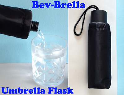 Binocktails Bev-Brella  Umbrella Flask - LARGEST capacity umbrella flask - 13 oz