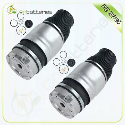 Front Pair Air Suspension Springs For Audi Q7 TDI, Cayenne Turbo GTS, Touareg