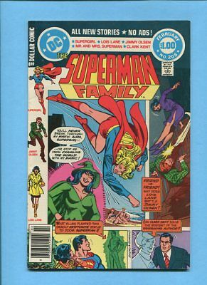 The Superman Family #205 Supergirl Enchantress DC Comics February 1981