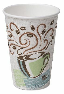 Dixie Perfec Touch Insulated Paper Coffee Hot Cold Beverage Cups 16 oz 50 pack