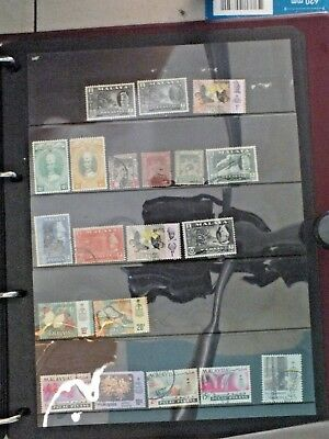 Malay states stamps