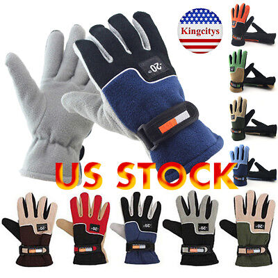 Full Finger Cycling Bike Gloves Motorcycle Motorcross Offroad Sports Gloves Warm