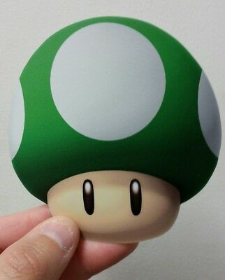 Super Mario Bros. Mushroom sticker (green)4 x 4. (Buy 3 stickers, GET ONE FREE!)