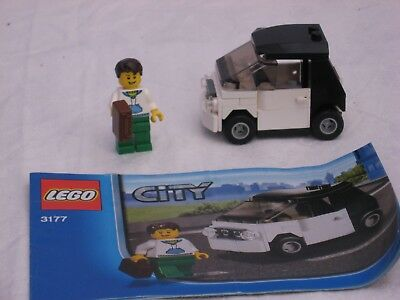 Lego City Small Car 3177 Used 100 Complete With Instructions No