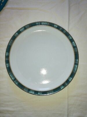 Denby Azure Coast Dinner Plate 10.2 Inches Excellent