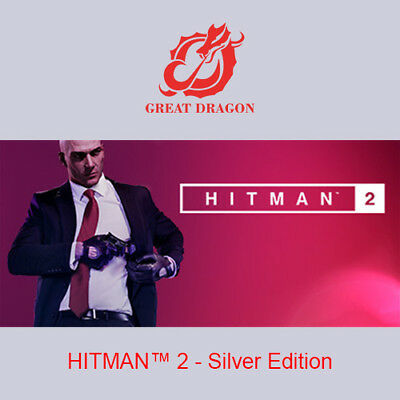 [Contact Before Purchase] HITMAN 2 - Silver Edition [PC Global]