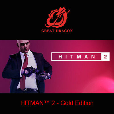 [Contact Before Purchase] HITMAN 2 - Gold Edition [PC Global]