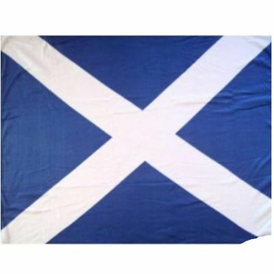 Large Scotland St Andrew's Saltire Scottish Flag Rugby Sport Football 5 x 3FT