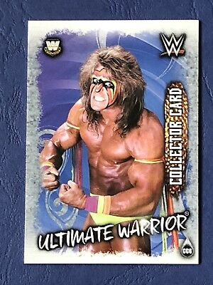 Topps Slam Attax Live 2018, Collector Card, Ultimate Warrior