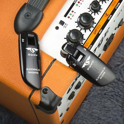 SWIFF WS-50 UHF Digital Guitar Wireless System (Transmitter + Receiver) 50M U7E1