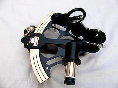 Marine Desk Top Sextant Ship Engine Room Navigation Instruments Nautical Sextant