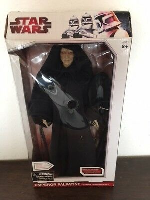Star Wars Diamond Select Ultima Quarter Scale Emperor Palpatine