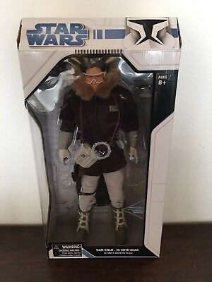 Star Wars Diamond Select Ultimate Quarter Scale Han Solo (Hoth)