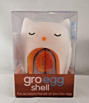 The Gro Company Gro-Egg Shell Cover Thermometer, Oona The Owl Orla The Owl