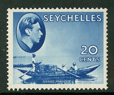 Seychelles  1938-41  Scott # 135  Mint Never Hinged - Chalky Paper