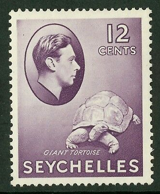 Seychelles  1938-41  Scott # 132  Mint Never Hinged - Chalky Paper